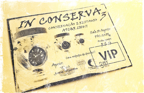 In CoNSeRVa lll Pub Santa Martha - A festa oficial de Conservação e Restauro!